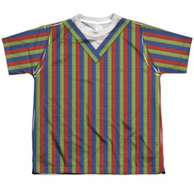 Sesame Street Bert Costume Short Sleeve Youth Poly Crew T-Shirt