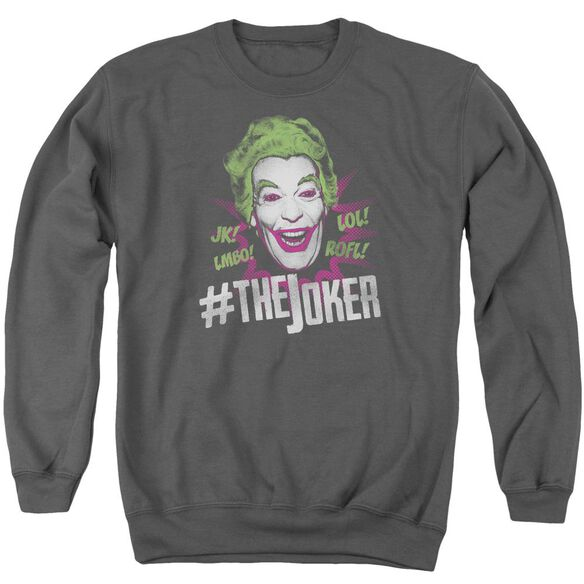 Batman Classic Tv #Joker Adult Crewneck Sweatshirt