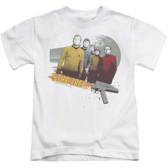Star Trek Strange New Worlds Short Sleeve Juvenile White T-Shirt