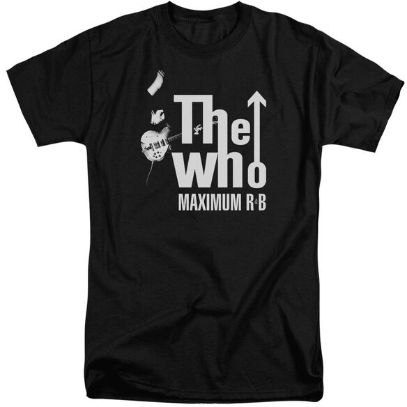 The Who Maximum R&B Short Sleeve Adult Tall T-Shirt