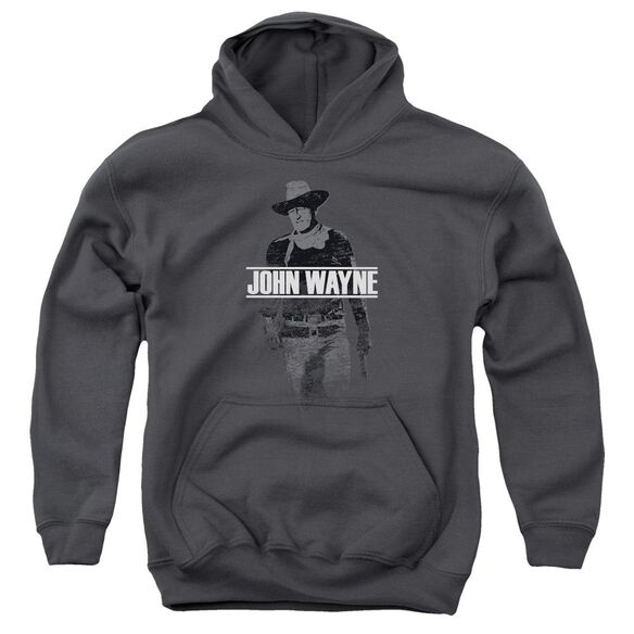 John Wayne Fade Off Youth Pull Over Hoodie