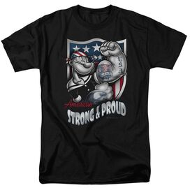 Popeye Strong & Proud Short Sleeve Adult T-Shirt