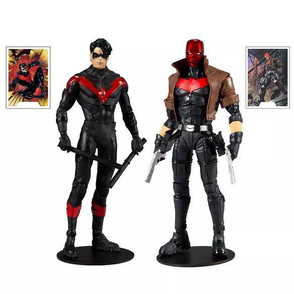 DC Comics Battle Scene Multipack - Nightwing vs. Red Hood