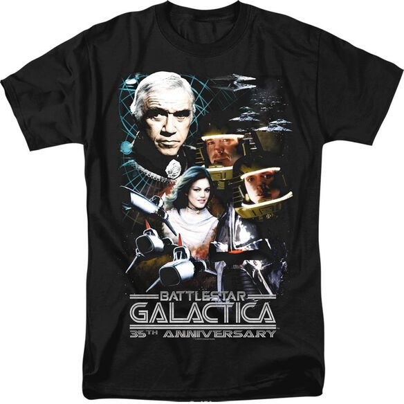 BSG 35TH ANNIVERSARY COLLAGE - S/S ADULT 18/1 T-Shirt