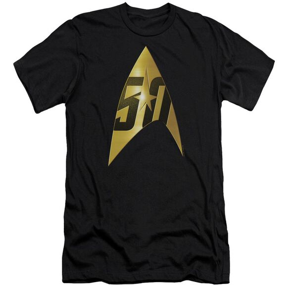 Star Trek 50 Th Anniversary Delta Premuim Canvas Adult Slim Fit