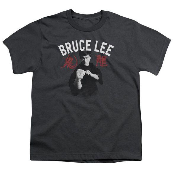 Bruce Lee Ready Short Sleeve Youth T-Shirt