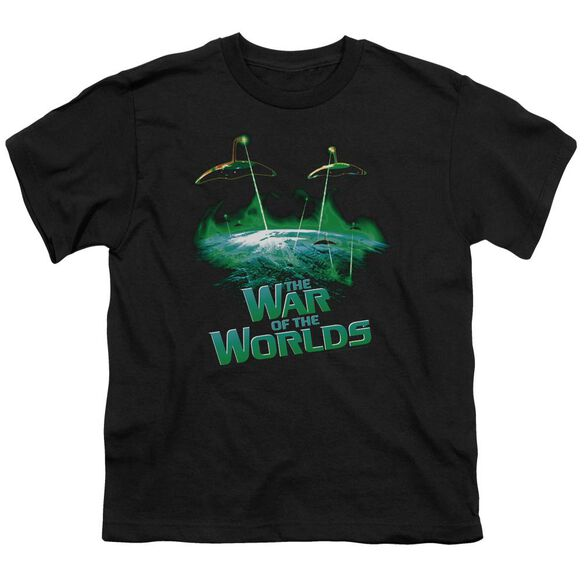 War Worlds Global Attack Short Sleeve Youth T-Shirt