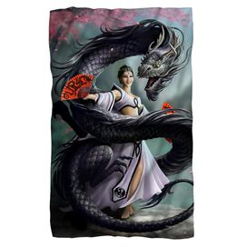 Anne Stokes Dragon Dancer Fleece Blanket