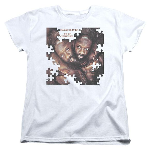 Isaac Hayes To Be Continued Short Sleeve Womens Tee T-Shirt