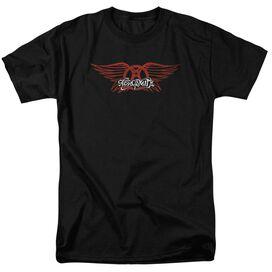 Aerosmith Winged Logo Short Sleeve Adult T-Shirt