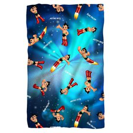 Astro Boy Pattern Fleece Blanket