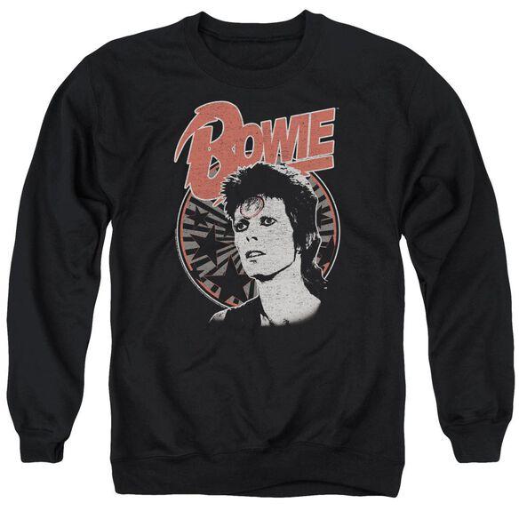 David Bowie Space Oddity Adult Crewneck Sweatshirt