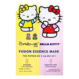 Creme Shop Hello Kitty & Mimi Pineapple & Hyaluronic Acid Fusion Face Mask