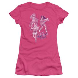 Archie Comics Its Pussycat Time Short Sleeve Junior Sheer Hot T-Shirt