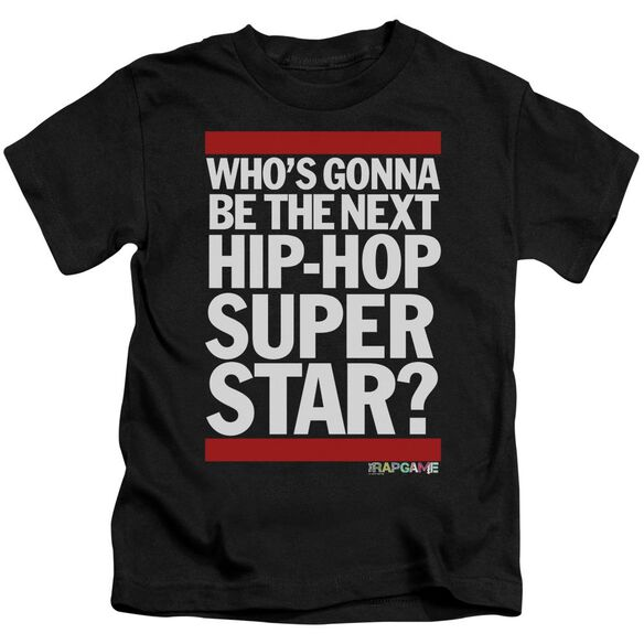 The Rap Game Next Hip Hop Superstar Short Sleeve Juvenile T-Shirt