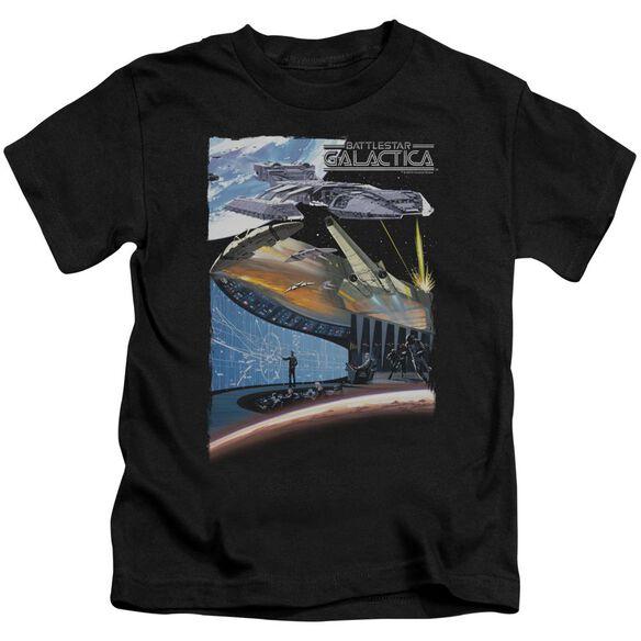 Bsg Concept Art Short Sleeve Juvenile Black Md T-Shirt