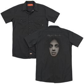 Billy Joel Piano Man Cover (Back Print) Adult Work Shirt