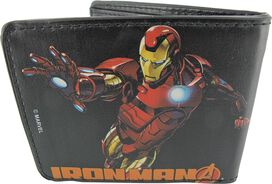 Iron Man Face and Poses Wallet
