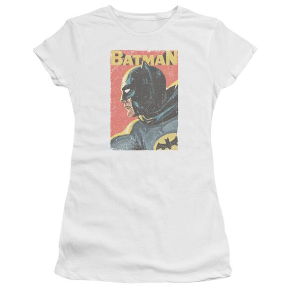 Batman Classic Tv Vintman Short Sleeve Junior Sheer T-Shirt