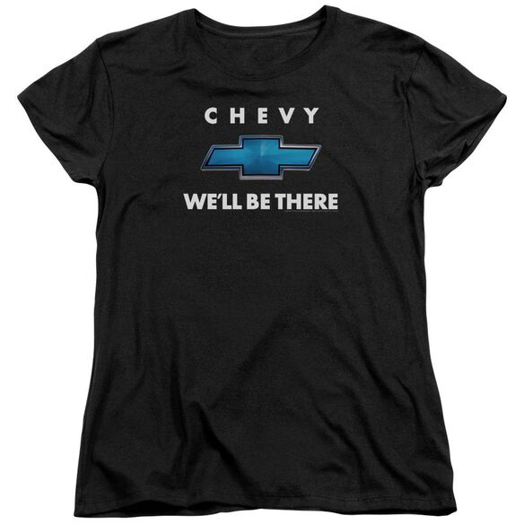 Chevrolet Well Be There Short Sleeve Womens Tee T-Shirt