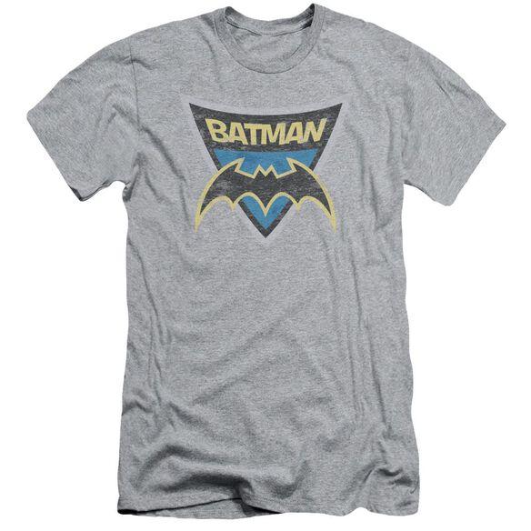 Batman Bb Batman Shield Short Sleeve Adult Athletic T-Shirt