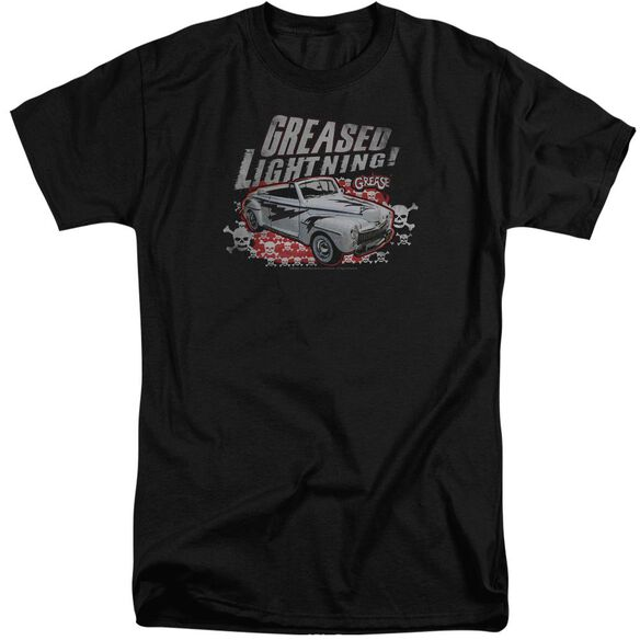 Grease Greased Lightening Short Sleeve Adult Tall T-Shirt