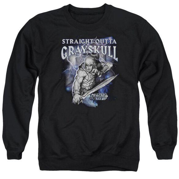 Masters Of The Universe Straight Outta Grayskull Adult Crewneck Sweatshirt