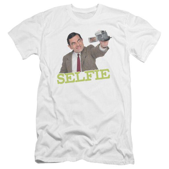 Mr Bean Selfie Premuim Canvas Adult Slim Fit
