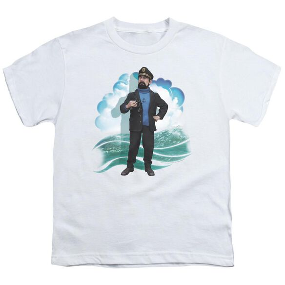 Tintin Haddock Short Sleeve Youth T-Shirt