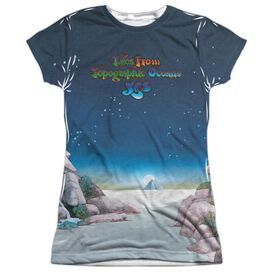 Yes Topographic Oceans Short Sleeve Junior Poly Crew T-Shirt