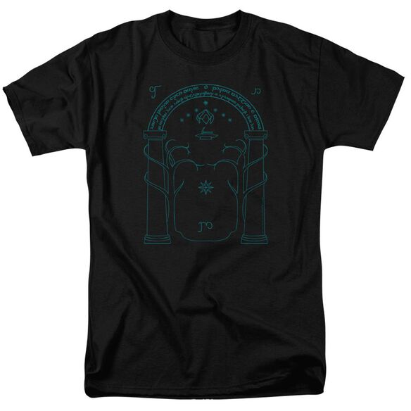 Lord Of The Rings Doors Of Durin Short Sleeve Adult T-Shirt