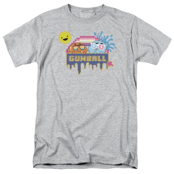 Amazing World Of Gumball Sunshine Short Sleeve Adult Athletic T-Shirt