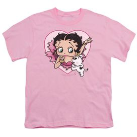 Betty Boop I Love Betty Short Sleeve Youth T-Shirt