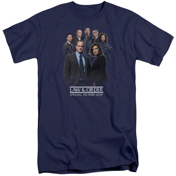 Law And Order Svu Team Short Sleeve Adult Tall T-Shirt