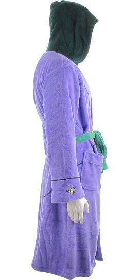 Joker Suit Hooded Fleece Robe