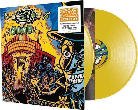 311 - Live [Exclusive 2LP Solid Yellow Vinyl]