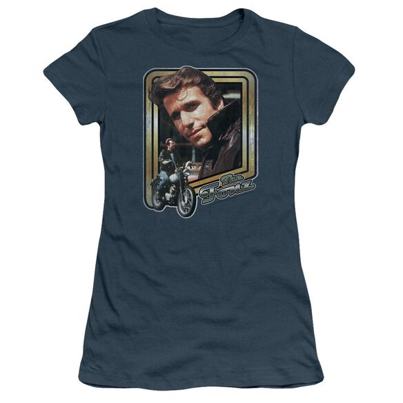 Happy Days The Fonz Short Sleeve Junior Sheer T-Shirt
