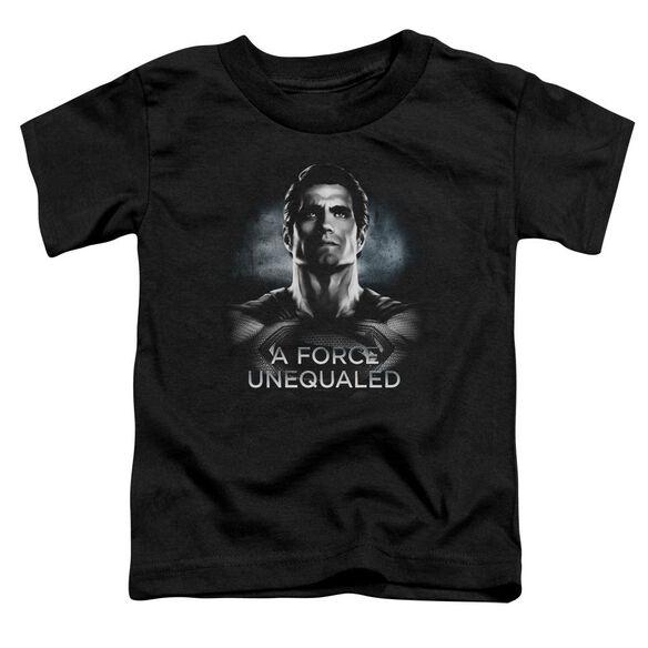 Batman V Superman Unequaled Short Sleeve Toddler Tee Black T-Shirt