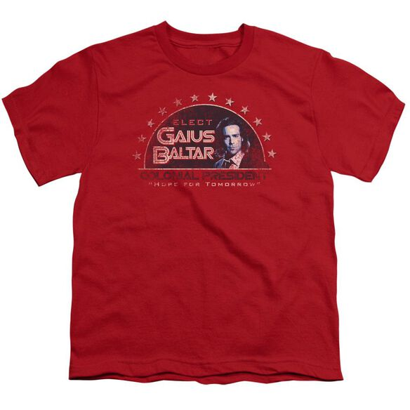BSG ELECT GAIUS - S/S YOUTH 18/1 - RED T-Shirt