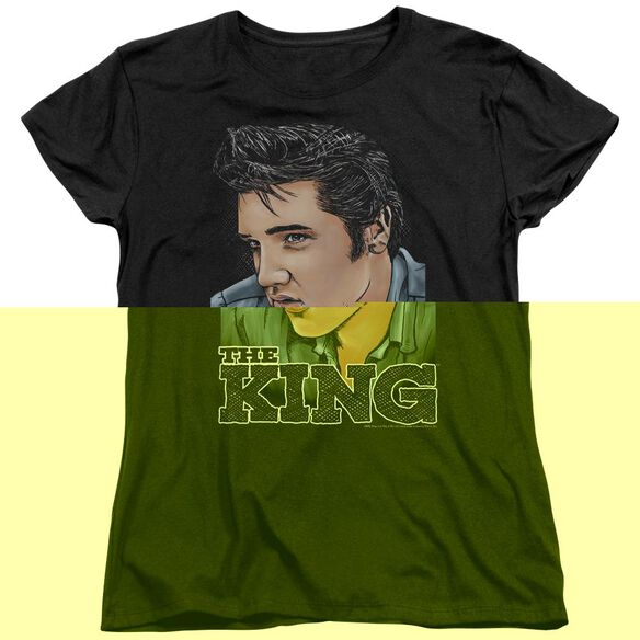 ELVIS PRESLEY GRAPHIC KING-S/S T-Shirt