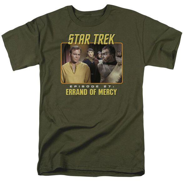 St Original Episode 27 Short Sleeve Adult Military Green T-Shirt