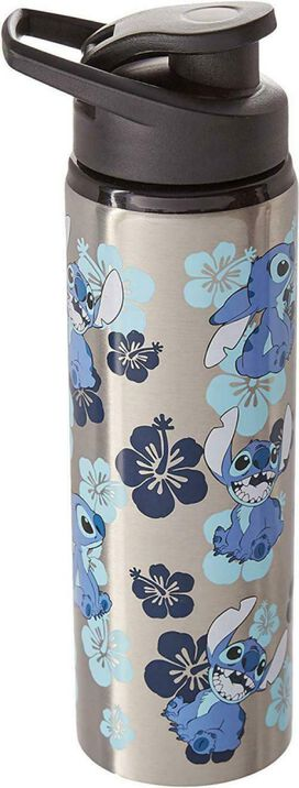 Stitch Stainless Steel Water Bottle