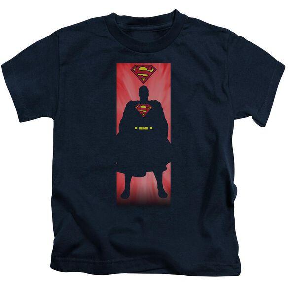 Superman Block Short Sleeve Juvenile T-Shirt