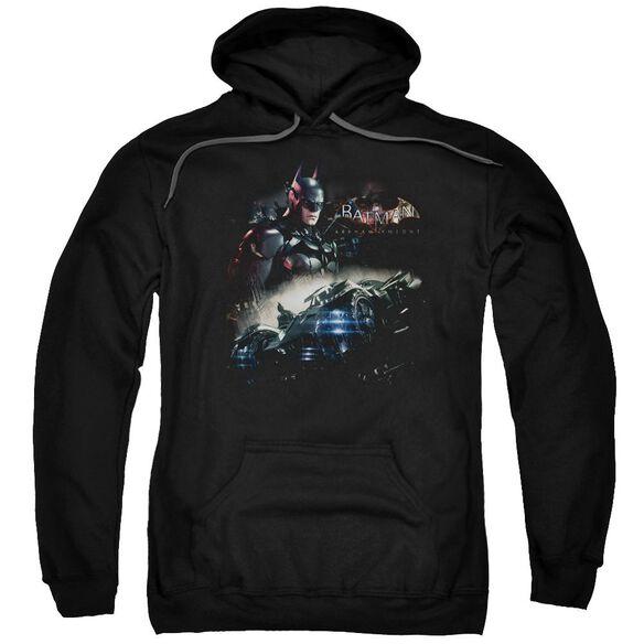 Batman Arkham Knight Knight Rider Adult Pull Over Hoodie Black