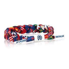 Rastaclat Braided Bracelet [United]