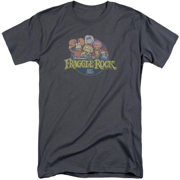Fraggle Rock Circle Logo Short Sleeve Adult Tall T-Shirt