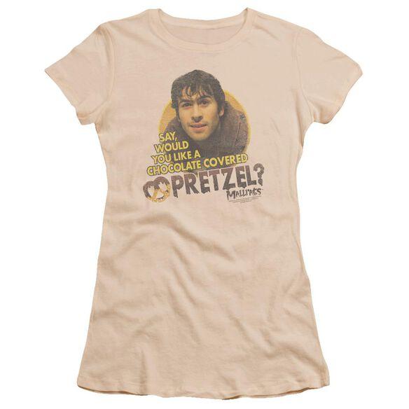 Mallrats Pretzels Premium Bella Junior Sheer Jersey