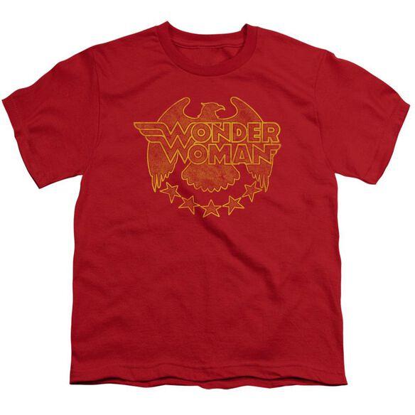 Dc Wonder Eagle Short Sleeve Youth T-Shirt