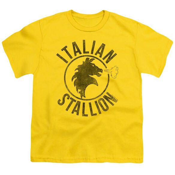 Rocky Italian Stallion Horse Short Sleeve Youth T-Shirt