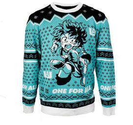 My Hero Academia Deku Christmas Sweater